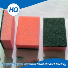 Non-deformation kitchen ware foam sponge dish cleaning scouring pad