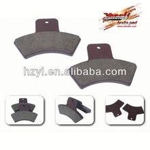 Quality system motorcycle brake disc friction pad