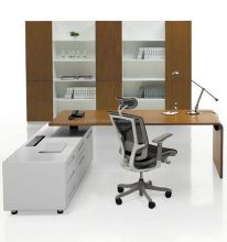 Top quality modern style office furniture veneer executive desk