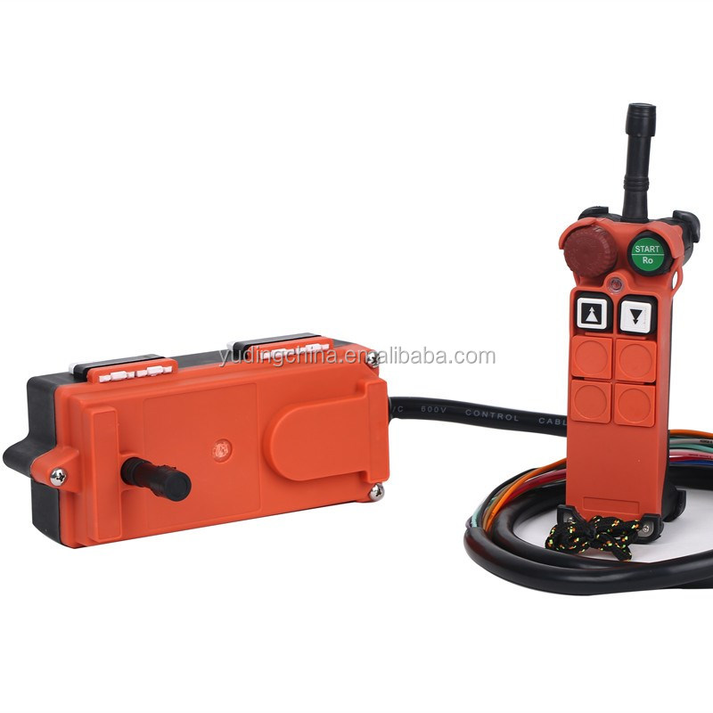 New Industrial crane remote control including one transmitter and one receiver for tower crane, hoist