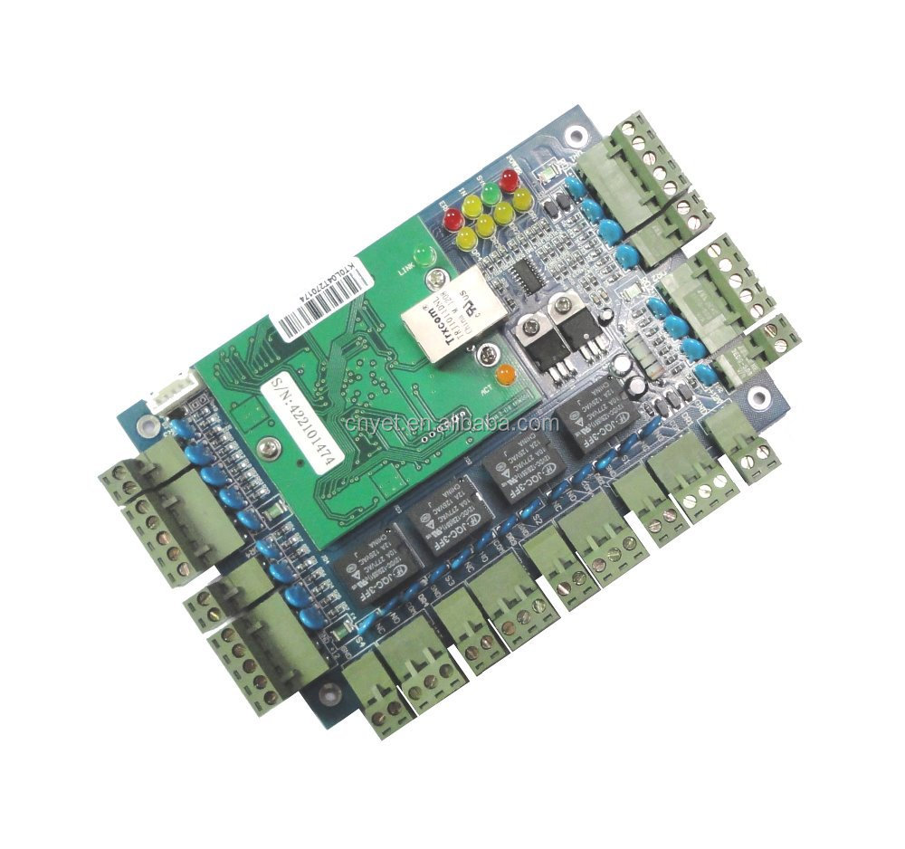 TCP/IP 4 Door Access Control Board Y.Link04.WEB