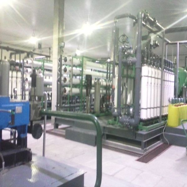 RO water treatment plant for oil and Gas field boiler