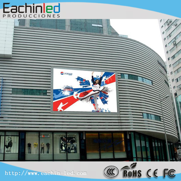 Full Color Big Screen P6 Outdoor Advertisment LED Screen