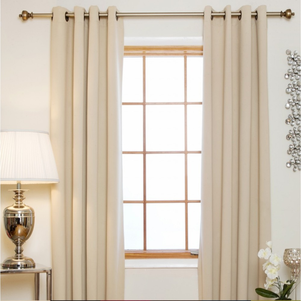 Guangzhou Double Layers Wholesale Classic Style Non-toxic Thermal Blackout Curtain
