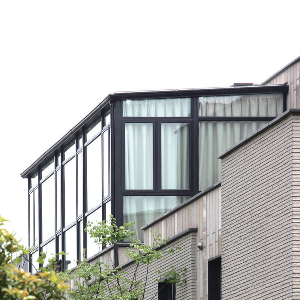 Made in china aluminum alloy prefab glass house buy for Prefab glass house prices