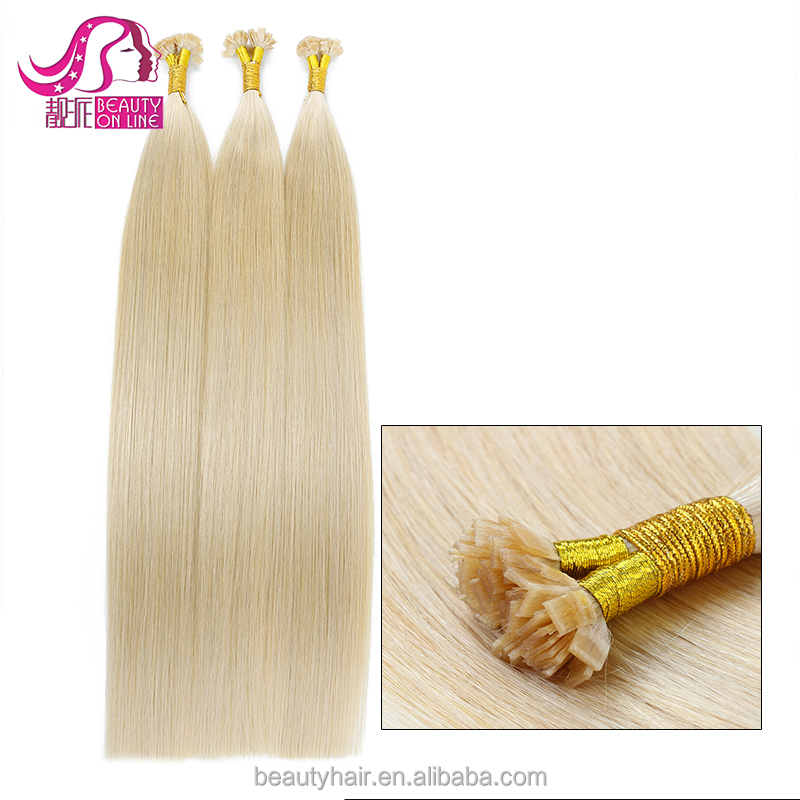 Europe aliexpress top quality grade 7A double drawn peruvian hair extension 100 cheap <strong>u</strong> tip Remy hair extension wholesale