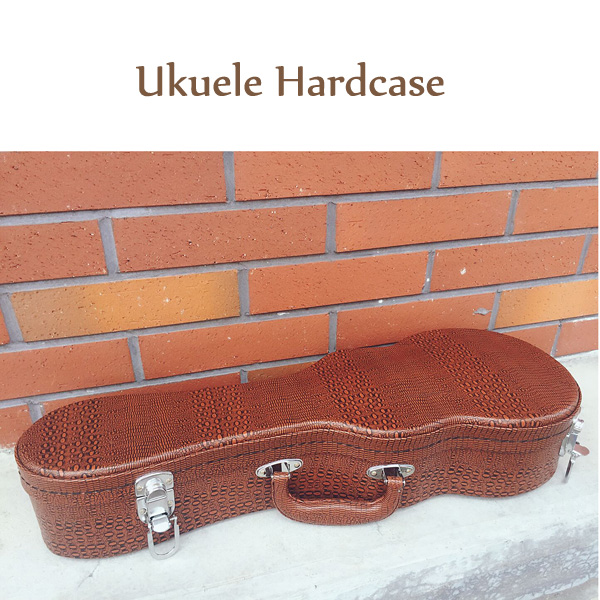 Hot Sale high quality different design concert ukulele case