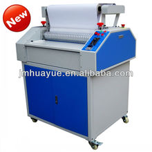 best quality bopp film hot laminating machine with 3D crystal
