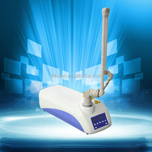 CE approved clinic/salon use CO2 laser machine