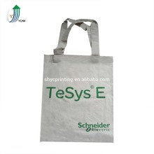 Factory price foldable full color printed cotton shopping tote bag with logo