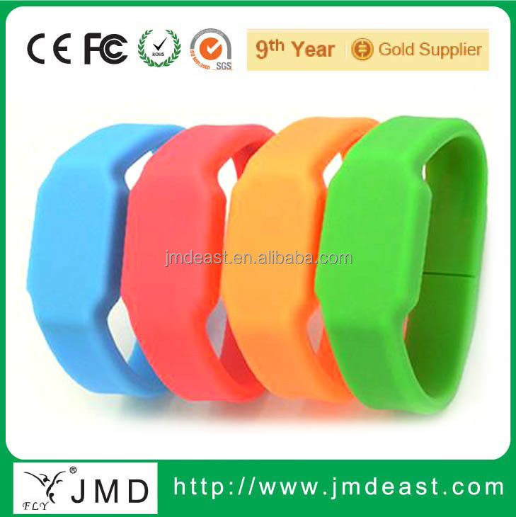 Watch with USB flash drive, Watch U disk, Silicone USB flash drive
