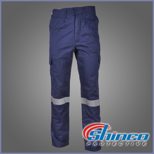 100% cotton wholesale used fire retardant clothing