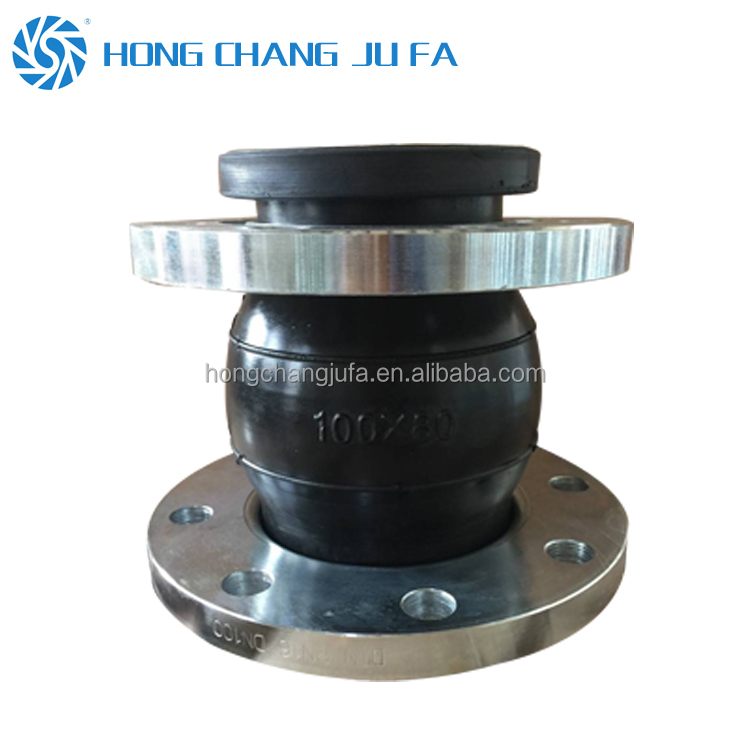 PN16 Neoprene rubber bellows reducer rubber expansion joint flexible coupling