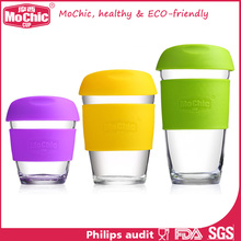 Mochic BPA free Stocked,Eco-Friendly Feature and Mugs Drinkware Type Glass Cups Mugs for Coffee or Tea