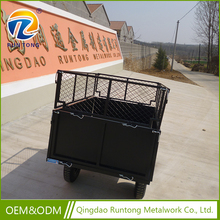 Hot Sell Garden Work Rolling Garden Cart Parts, Garden Cart