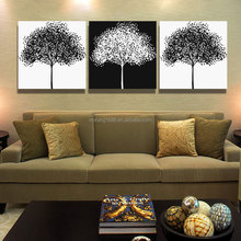white & black wall art digital art oil painting wall decoration