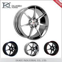 Silver Color Made By Aluminum Alloy Forged Wheels ShangHai For Sale