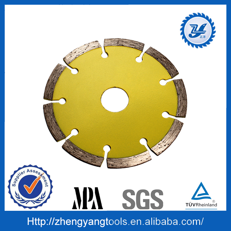 sintered segmented diamond saw blade for cutting concrete and brick