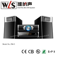 WLS 2.0 CH Micro Mini Speaker PM5 with amplifier,Karaoke,home theater function