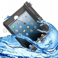 High Quality Waterproof Bag Protective Case with Compass for iPad Air/ mini 3 / 2 / 1