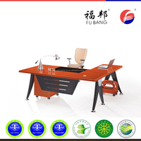 """L"" Type Design top quality wooden modern executive desk office table design"