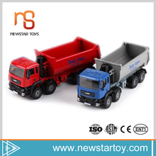 Wholesale 2017 modern alloy car 1:50 dump truck toy for kids