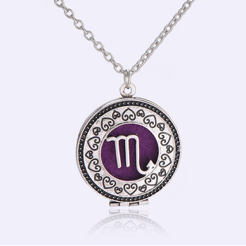 316L Stainless Steel Aromatherapy Essential Oil Diffuser Locket Necklaces
