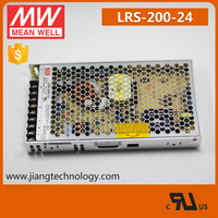 Meanwell 200W 24V Industrial Switching Power Supply LRS-200-24 UL Listed 3 Years Warranty