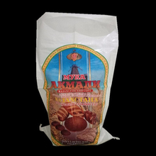 China plastic pp woven flour bag laminated sacks selling well