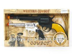 Battery Operated Cowboy Gun with Light & Sound-- AF3504