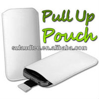 High Quality Pull Up Leather Pouch For Ipod Touch 5 Made in China