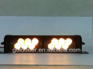 Amber Strobe Emergency 12V Dash Led Lights (SL761)
