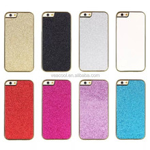 "Chrome Jewelled Bling Sparkle Glitter Back Case Cover for Apple iPhone 6 4.7""/ Plus 5.5"""