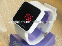 2013 new style hot sale silicone digital blood glucose watch