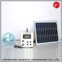 Maintenance-Free Lead Acid Battery solar power generator system with 240Lm LED