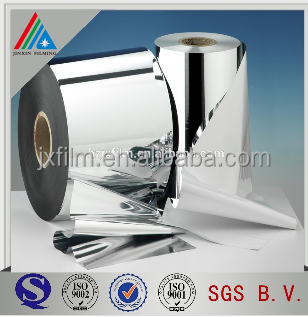 reflective metallized polyester film/mirror film