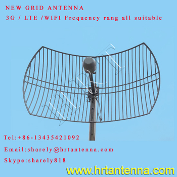 3G 1920-2170MHz MIMO outdoor grid antenna TDJ-1920SPE9-24*2
