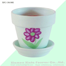 ceramic flower pot for plants