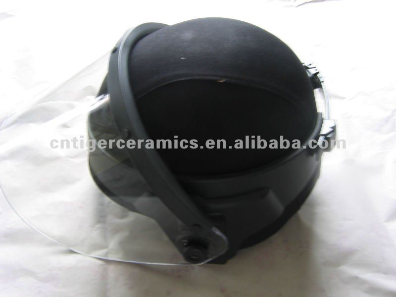 Safety Helmet with Bullet Proof Visor