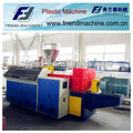 Conical Twin-screw Plastic Extruder/recycled plastic extruder