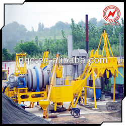 10-80t/h QLBY Mobile Asphalt Mixing Plant