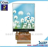 "1.77 "" inch touch screen LCD 128*(RGB)*160 QQVGA Portrait Mobile phone TFT LCD display module without touch screen panel"