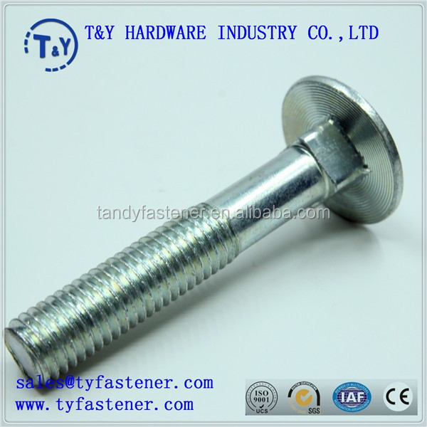 Wholesale cheap price round head oval neck carriage bolt