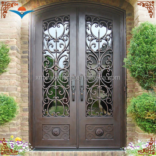 High quality metal double flat Exterior door for sale