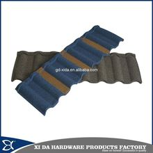 Building materials roma stone coated metal roof tile for house