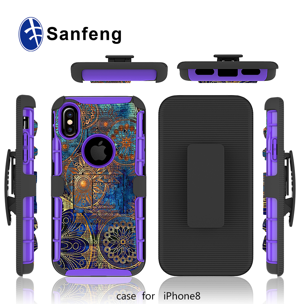 Design Your Own Cell Phone Case for iPhone 8 for iPhone X Holster Cover with Custom Designs Printed