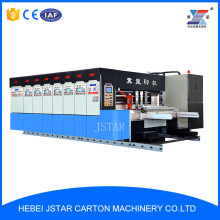 ZYK-1200 full automatic high speed four-color corrugated box flexo printing slotting die cutting machine