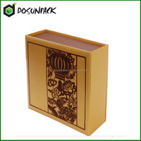 Luxury Black Paper Packing Box For