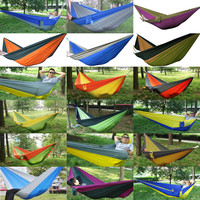2015 Ultralight Durable Strong Nylon Taffeta Fabric Parachute Outdoor Camping Portable Hammock