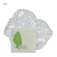 Widely used hair bun cover rational design plastic ear shower cap